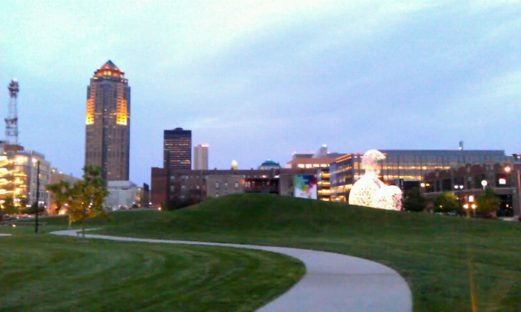 """Des Moines, it's time to """"pay it forward""""."""