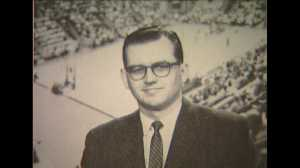 Zabel had many partners through the years calling the Hawkeyes. Bill Reichardt, Randy Duncan, Forest Evashevski, Ed Podolak and Bobby Hansen. (WHO TV)