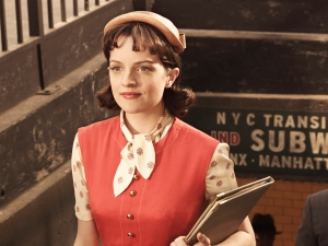 Remember when Peggy Olson in Season 1?  My how time have changed for Peggy. (Frank Ockenfels / AMC)