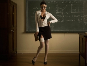"The ""hot teacher""fantasy is what it is:a fantasy. Sadly, a troubling number of female teachers or females in general has taken that fantasy to criminal levels by messing around with underage students."